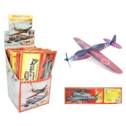 Avion de chasse 20cm styro, 12 modèles différents à monter soi-même