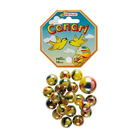 20 billes + calot canari