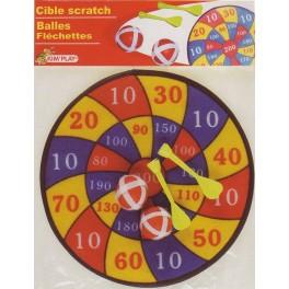 Cible scratch + balles