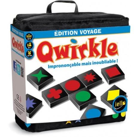 Qwirkle voyage, Iello : Un Qwirkle mini qui se joue comme le grand !