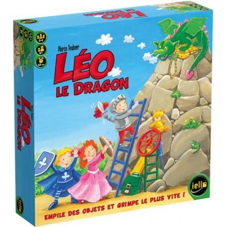 Léo le Dragon, Iello : empile des objets et grimpe le plus vite !