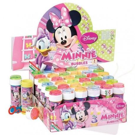 Bulles de savon Disney Minnie (x36), 60 ml chacune