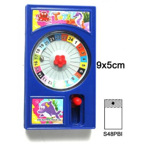 Jeu de patience roulette 9x5 cm