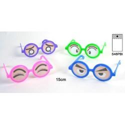 Lunettes gros yeux humoristique, 15 cm