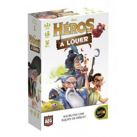 Héros à louer, Mini games, Iello : Recrutez une équipe de héros !