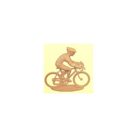 Cycliste rouleur moderne