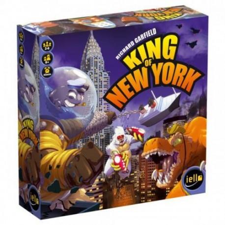 King of New York, Iello : la suite du célèbre King of Tokyo