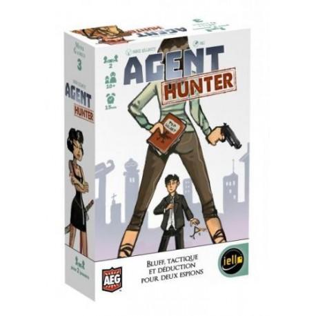 Agent Hunter, Iello, Mini Games : bluff, tactique et déduction pour 2 espions