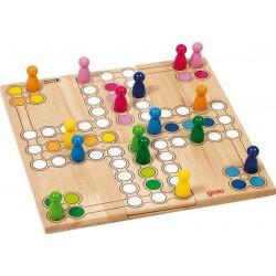Jeu de Ludo modulable, Goki, 2-3 ou 4 joueurs