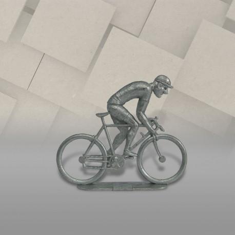 Cycliste métal plat grimpeur brut