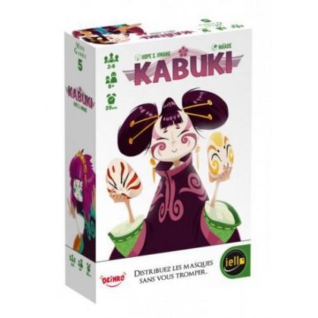 Kabuki, Mini games, Iello, Distribuez les masques sans vous tromper !