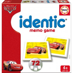 Identic memo game cars