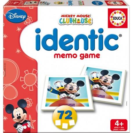 Identic memo game mickey