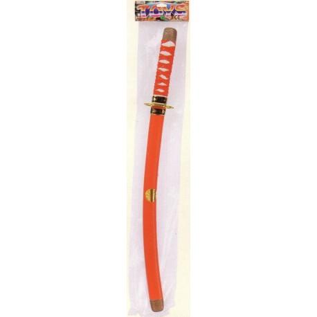 Epée Ninja avec fourreau, 55 cm environ, plusieurs coloris
