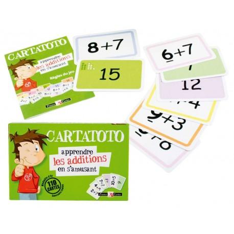 Cartatoto, apprendre les additions