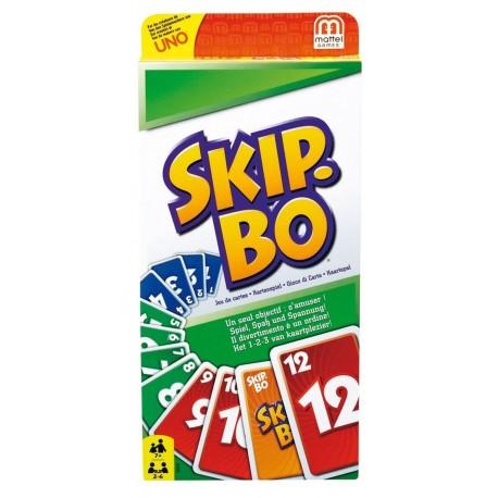 SkipBo, Mattel, une mécanique de jeu simple et originale, proche de la crapette