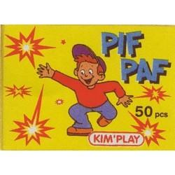 Pif-Paf, boite de 50 pétards