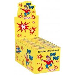 Pif-Paf : 50 boites de Pif-Paf de 50 pétards