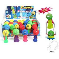 Clown sauteur, 6 cm
