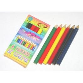 Crayons de couleur (x6)