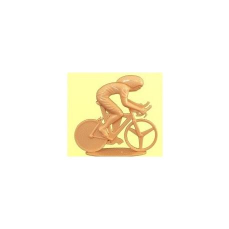 Petit cycliste miniature, position Contre la Montre