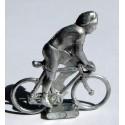 Mini cycliste métal, position grimpeur