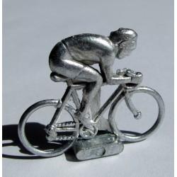 Mini cycliste métal, position sprinteur