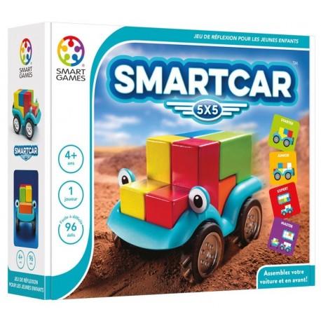 SmartCar 5x5, Smart Games. Assemblez votre voiture et en avant !