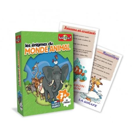 Jeux d'énigmes: le monde animal