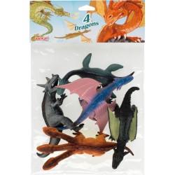 Dragons maxi (x4)