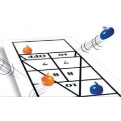 Curling de table, Shuffle