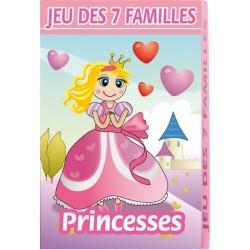 Jeu de 7 familles, conte et histoire, princesses