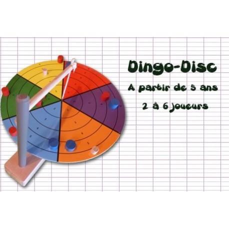 Dingo Disc, jeu d'adresse et stratégie avec une dose de hasard