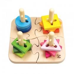 Puzzle à boutons créatif