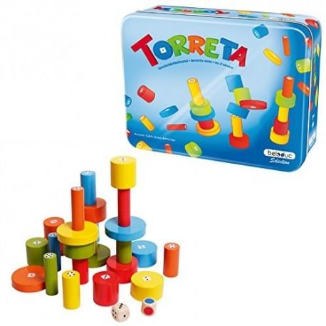 Torreta, Bedeluc les joueurs doivent construire la tour la plus haute
