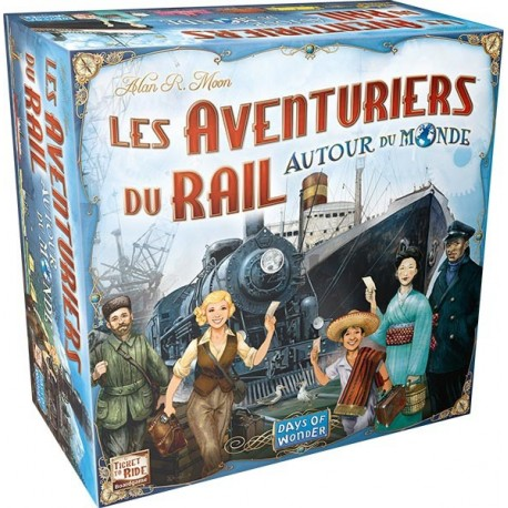 Les Aventuriers du Rail: Autour du Monde, Days of Wonder