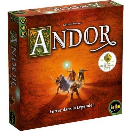 Andor, Iello : Le jeu d'aventure coopératif lauréat de l'As d'Or 2013
