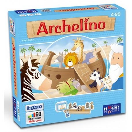 Archelino, Huch édition, est un jeu de logique en solitaire dès 4 ans
