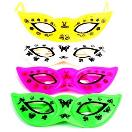 Masque lunettes carnaval 15 cm