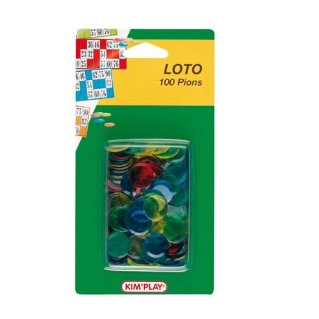 100 pions de loto