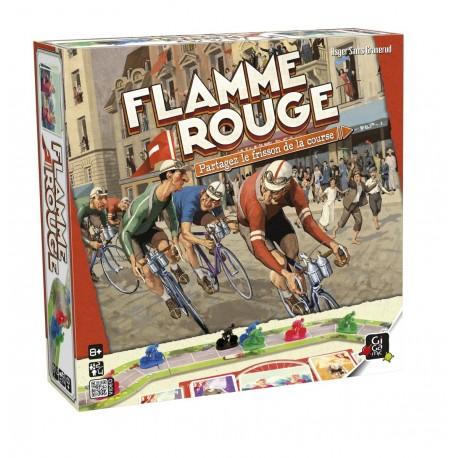 Flamme Rouge, Gigamic, le jeu de plateau sur le cyclisme