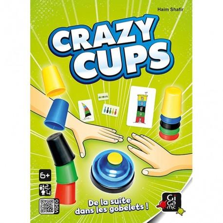 Crazy Cups, Gigamic : réaliser le plus vite possible la suite représentée sur la carte !