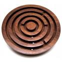 Labyrinthe jeu de patience en bois