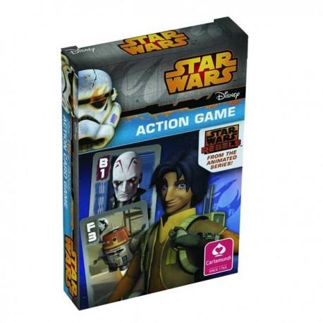 jeu de familles Star Wars Rebelle, Action Game