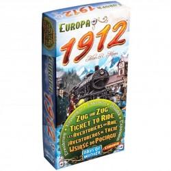 Les Aventuriers du Rail, extension Europe, 1912