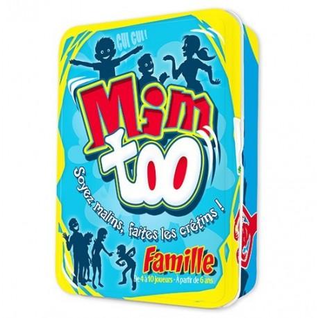 Mimtoo Famille : Le jeu de mimes incontournable en version familiale