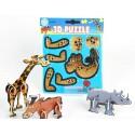Puzzle animal zoo 3D
