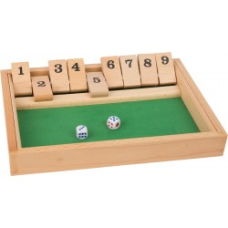 Shut the box, version solo