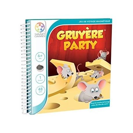 Gruyère Party, Smart Games, magnétique : Les souris gloutonnes !