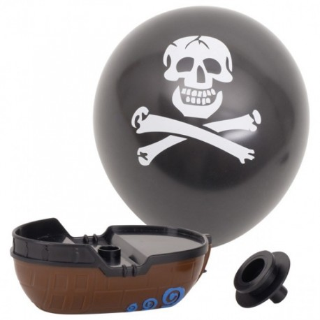 Bateau de pirates avec ballon